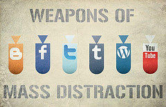 Weapons of mass distraction: Hunter Langston